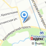 Русский Лён на карте Санкт-Петербурга