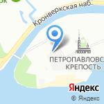 Санкт-Петербургский монетный двор Гознака на карте Санкт-Петербурга