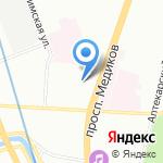 К-Электро на карте Санкт-Петербурга