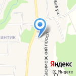 Вартемяги Парк на карте Санкт-Петербурга