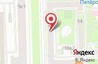 Схема проезда до компании Медэйм в Санкт-Петербурге