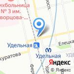 Elegant на карте Санкт-Петербурга
