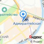 Управление Федеральной службы по надзору в сфере связи на карте Санкт-Петербурга