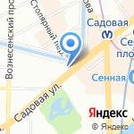 Поляков и партнеры на карте Санкт-Петербурга
