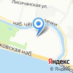 Джэт энд Клауд на карте Санкт-Петербурга