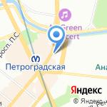 АКБ Абсолют банк на карте Санкт-Петербурга