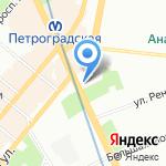 Петроградская Медицинская Комиссия на карте Санкт-Петербурга