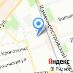 АСтроКом-А на карте Санкт-Петербурга