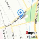 Костромской 71 на карте Санкт-Петербурга