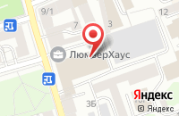 Схема проезда до компании Кинопартнер в Санкт-Петербурге