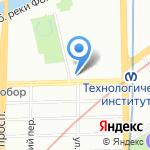 Оникс Швейная Техника на карте Санкт-Петербурга