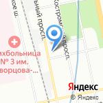АМК на карте Санкт-Петербурга