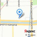 Средняя общеобразовательная школа №564 на карте Санкт-Петербурга