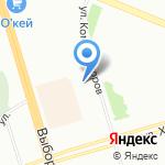 Содружество столиц на карте Санкт-Петербурга