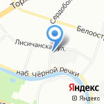 Питер Арт Сервис на карте Санкт-Петербурга