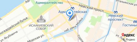 Prima-Travel на карте Санкт-Петербурга
