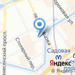 Art-T-Shok на карте Санкт-Петербурга