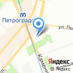 Celebrity на карте Санкт-Петербурга