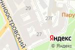 Схема проезда до компании КабельТрест в Санкт-Петербурге