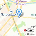 Витамед на карте Санкт-Петербурга