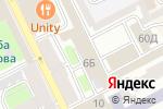 Схема проезда до компании Ашихара-Каратэ в Санкт-Петербурге
