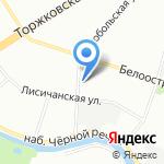 ПТК на карте Санкт-Петербурга