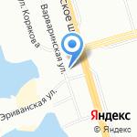 Озерки на карте Санкт-Петербурга