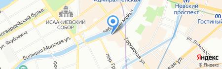 Искатель на карте Санкт-Петербурга