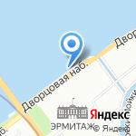 Ленинградский берег на карте Санкт-Петербурга