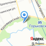 Абрау Дюрсо на карте Санкт-Петербурга