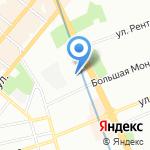 Златоуст на карте Санкт-Петербурга