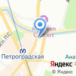 Вся загородная недвижимость Санкт-Петербурга и Ленинградской области на карте Санкт-Петербурга