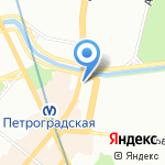 РФН-Геодезия СПб на карте Санкт-Петербурга