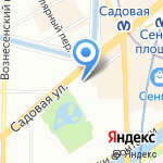 Мой Город на карте Санкт-Петербурга