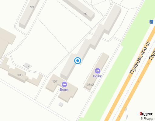 Товарищество собственников жилья «Цветы» на карте Санкт-Петербурга