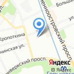 ТДЦ на карте Санкт-Петербурга