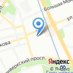 Сид-альянс на карте Санкт-Петербурга