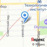 ISpeak на карте Санкт-Петербурга