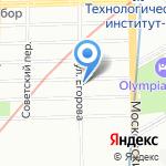 АРХИТЕКТУРНАЯ ФИРМА А. МЕЛЬНИЧЕНКО на карте Санкт-Петербурга