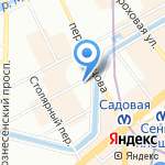 Комплэд на карте Санкт-Петербурга