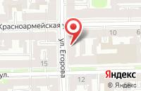 Схема проезда до компании Петропромснаб в Санкт-Петербурге