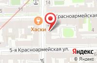 Схема проезда до компании Ники в Санкт-Петербурге