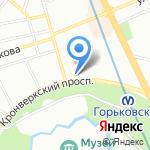 La Maison Romantique на карте Санкт-Петербурга