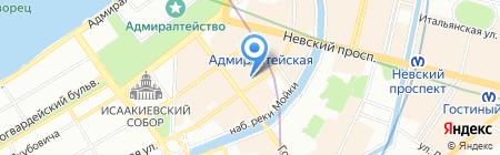 iSolo на карте Санкт-Петербурга
