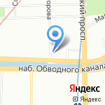 Ренессанс на карте Санкт-Петербурга
