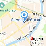 WaveAccess на карте Санкт-Петербурга
