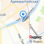 Финистерра на карте Санкт-Петербурга