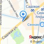 Valley на карте Санкт-Петербурга