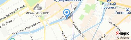 Алирос-Спб на карте Санкт-Петербурга