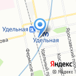 RozaFlowers на карте Санкт-Петербурга